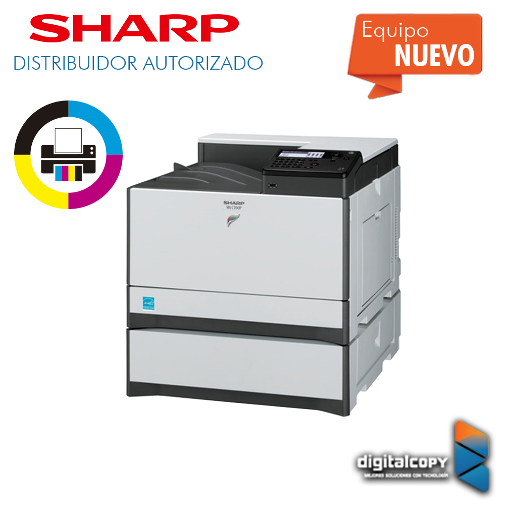 Impresora Sharp MX-C300P