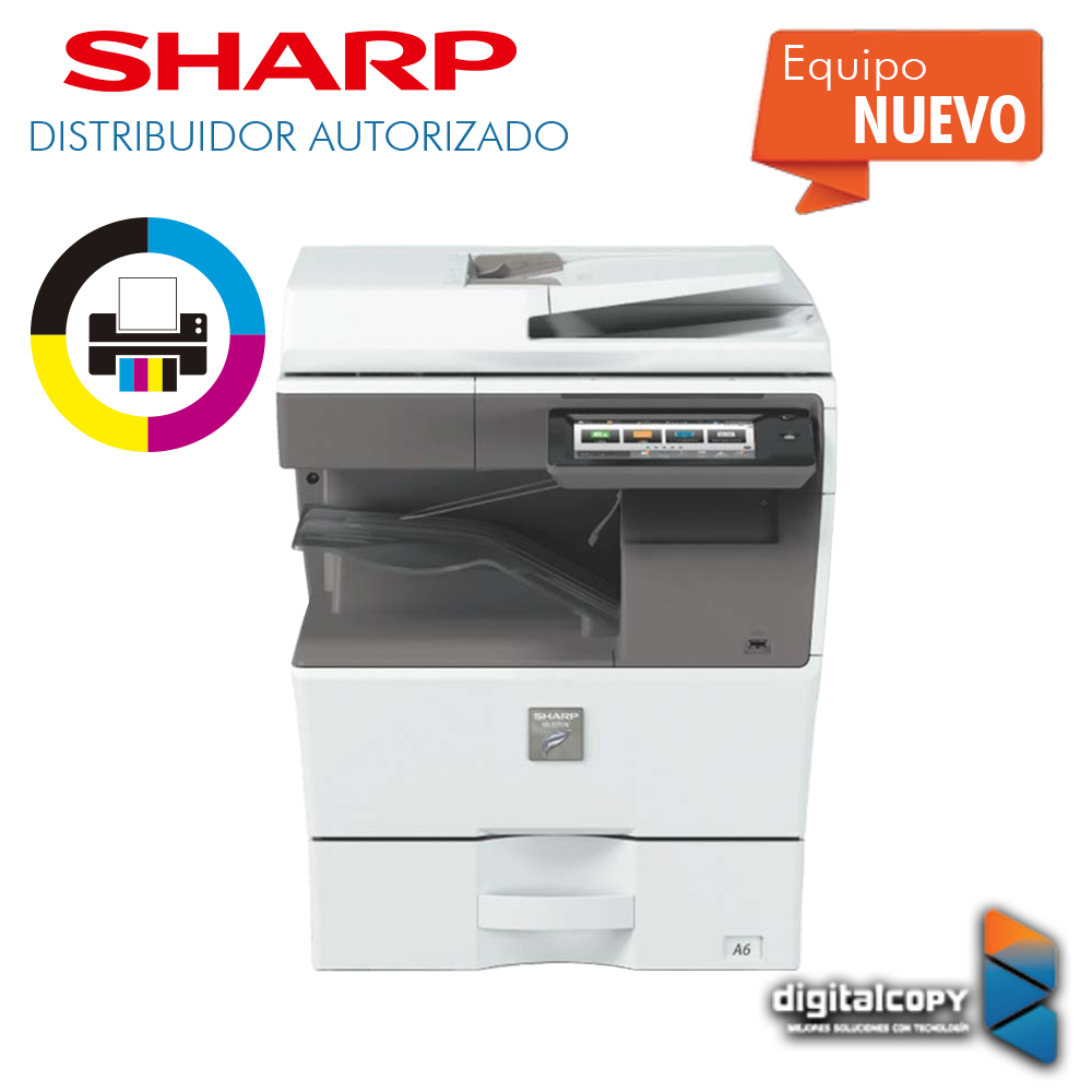 Multifuncional Sharp MX-C303W / C304W